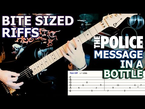 Bite Sized Riffs | The Police - Message In A Bottle | Main Verse Guitar Riff
