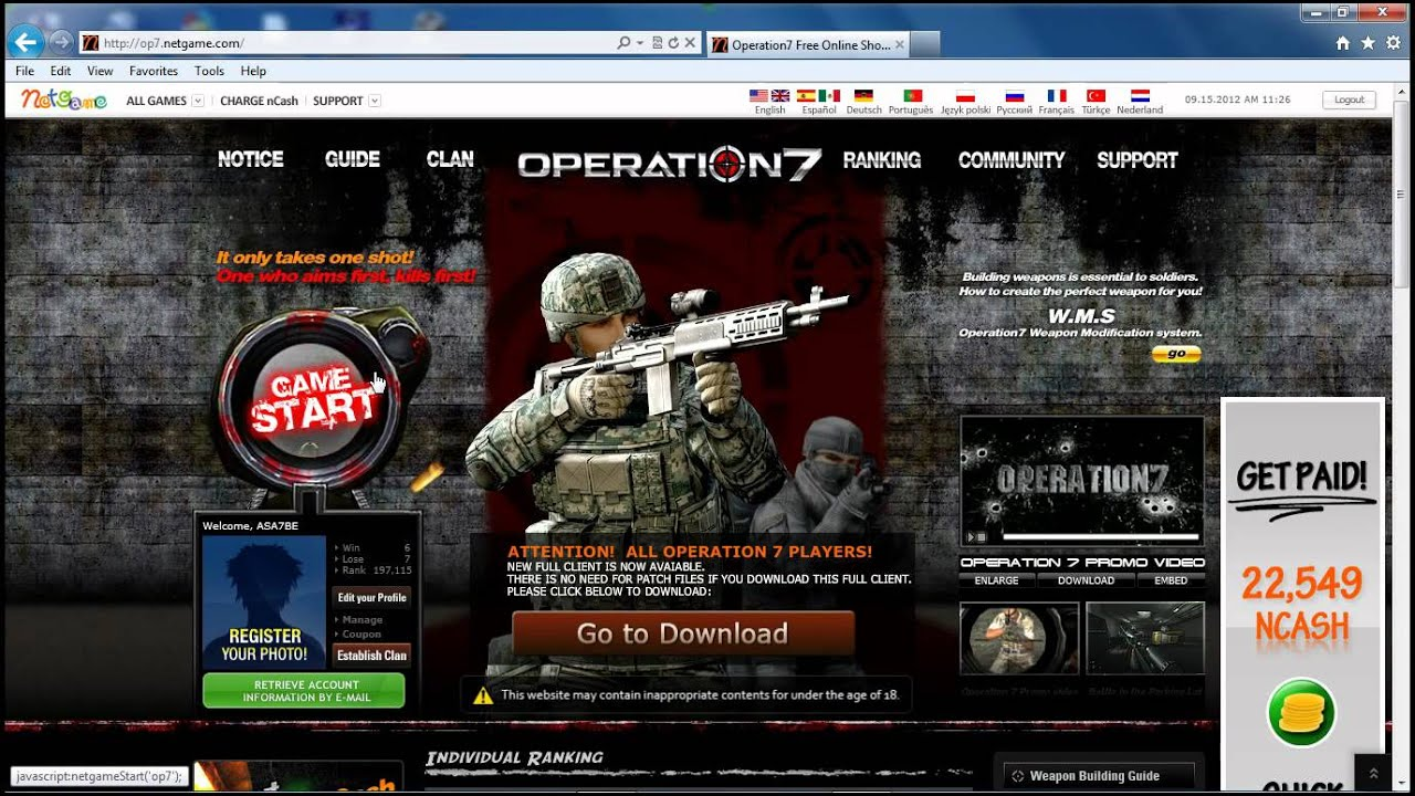 Operation7 20160121 download for pc free.