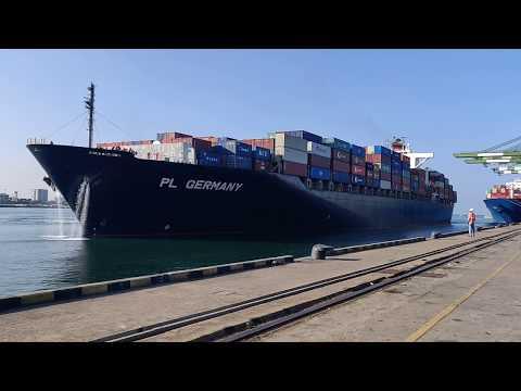 Berthing of a Vessel