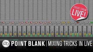 Ableton Live 9 Mixing Tricks w/ Sie Medway-Smith (Depeche Mode, U2, Bjork) (FFL!)