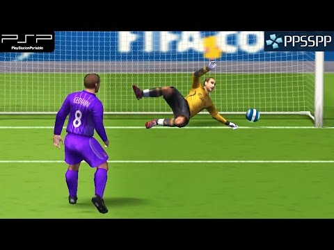 Fifa 08 - PSP Gameplay 1080p (PPSSPP)