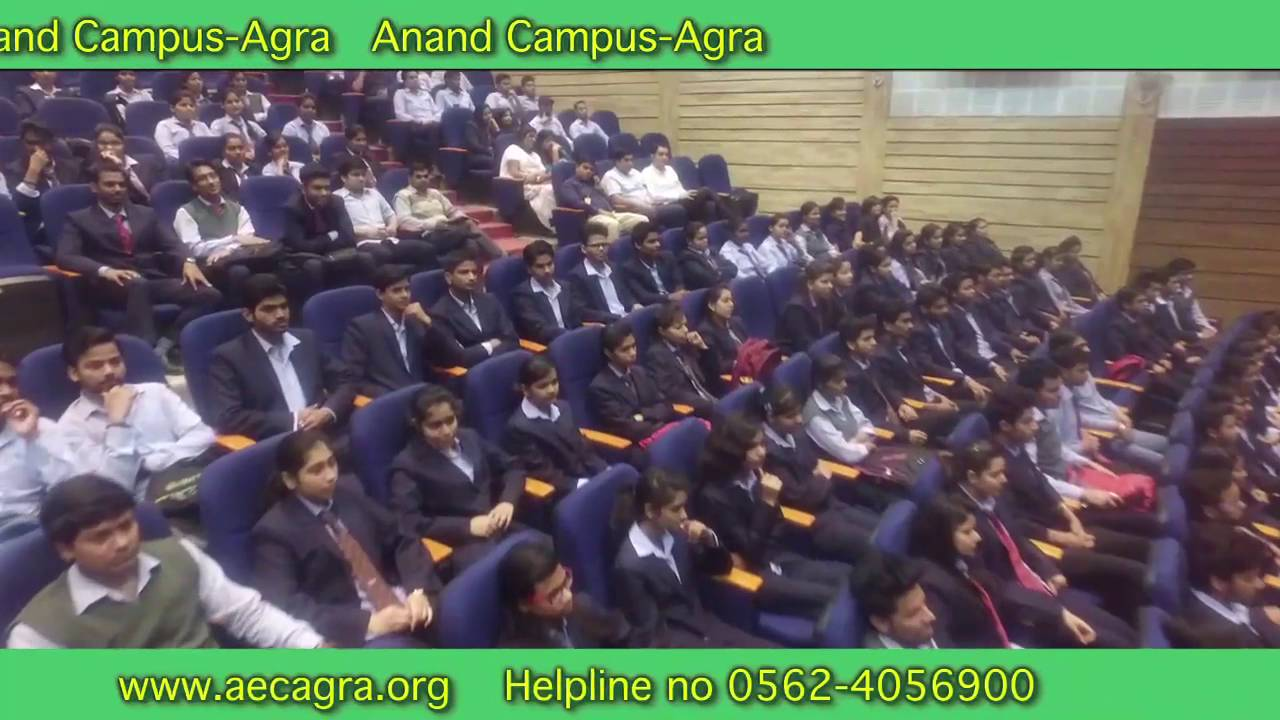 Admissions Open for Engineering, Management , Pharmacy & more @ Anand Campus- Agra
