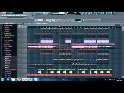 AWESOME FLP HOUSE | Serebro - Мало тебя (The Kroolla remix 2013) FLP Free download