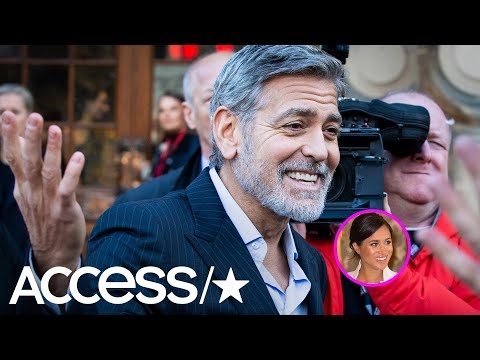 George Clooney Continues To Defend 'Kind & Smart' Meghan Markle Against 'Unfair' Press