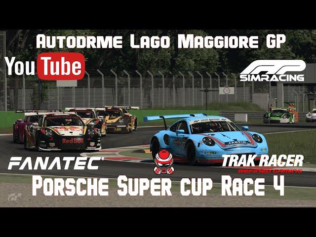 Porsche super Cup Race 4 Lago Maggiore GP Pro/Rookie