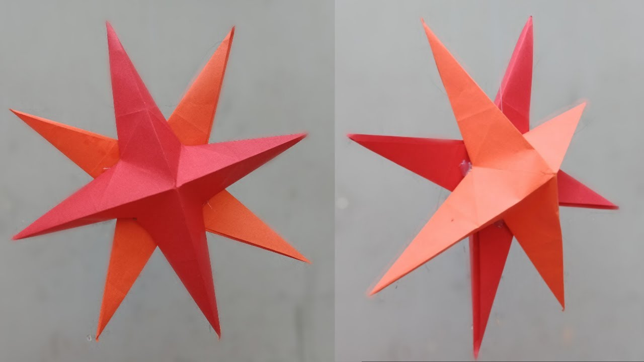 how to make a modular origami star (Paolo Bascetta) - YouTube | 720x1280