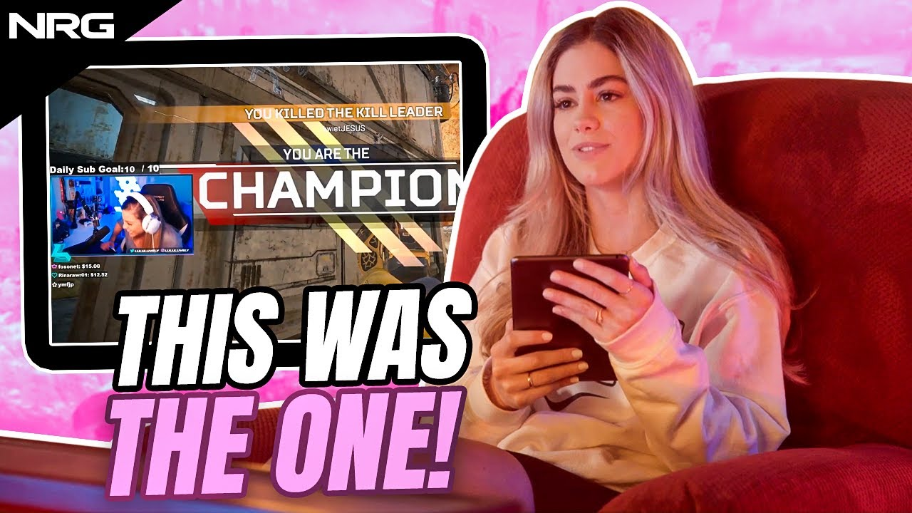 LuluLuvely reacts to the clips that made her famous   NRG Apex Legends