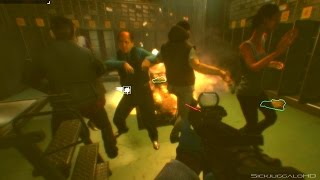 Payday 2 Hoxtalicious!!! Civi Dance Around the Burning Money