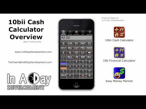 10bii Financial Calculator Tutorial Videos | In A Day