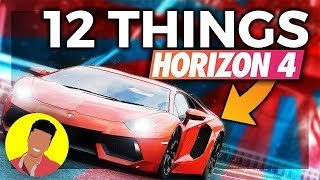 12 FH4 Features I Can't Live Without