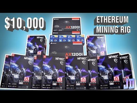 24 RX 580s!!!! $10,000 Quad PC Timelapse Build