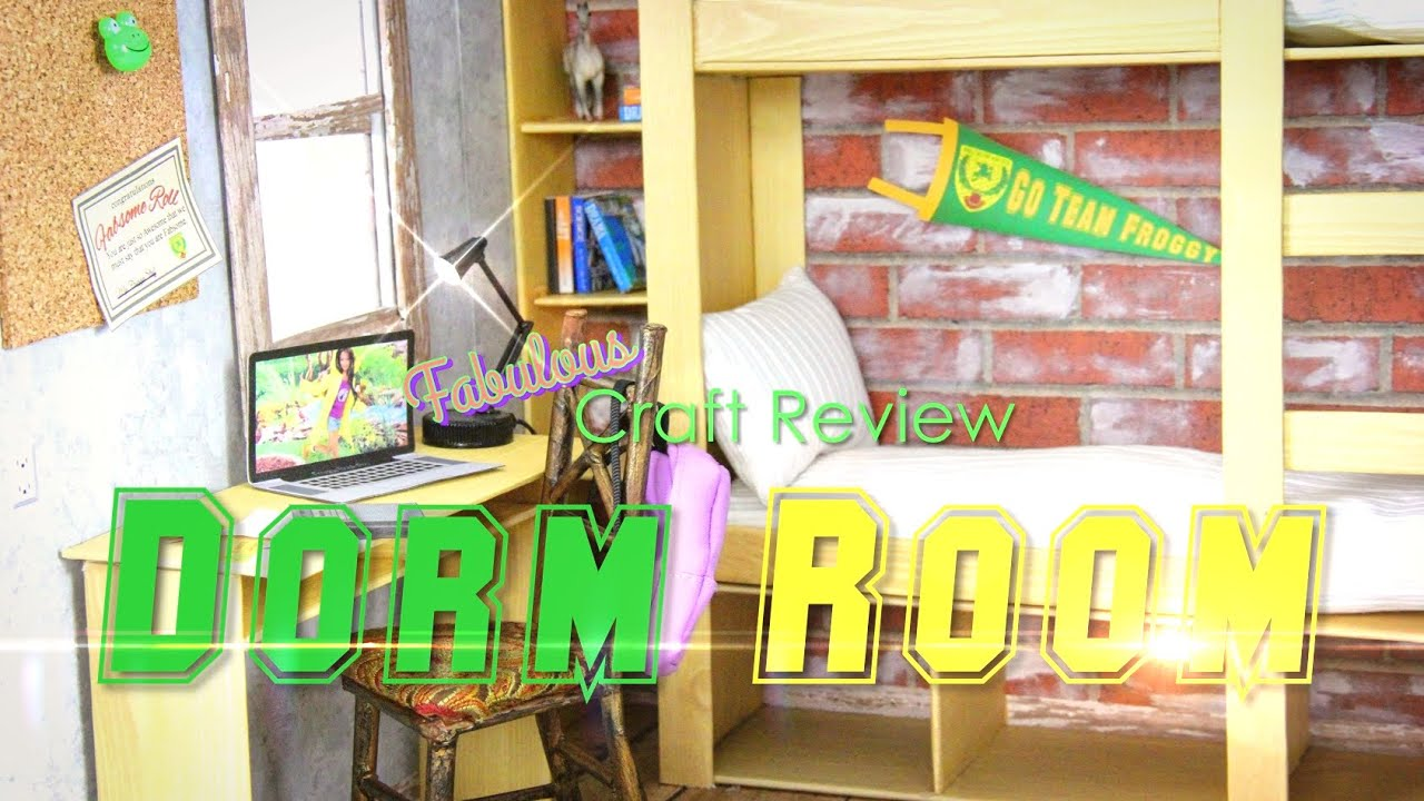 Fabulous Craft Review: Dorm Room - YouTube