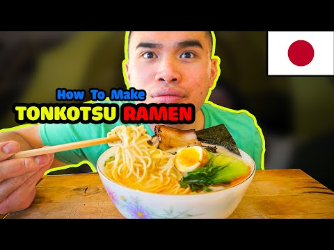 How to make TONKOTSU RAMEN