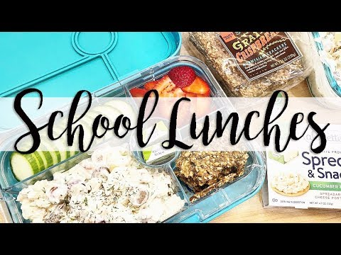 School and Work Lunch Ideas for Busy Moms // Sharing Some Bento Box Lunch Ideas!