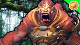 KING KONG!   Overwatch Custom Game