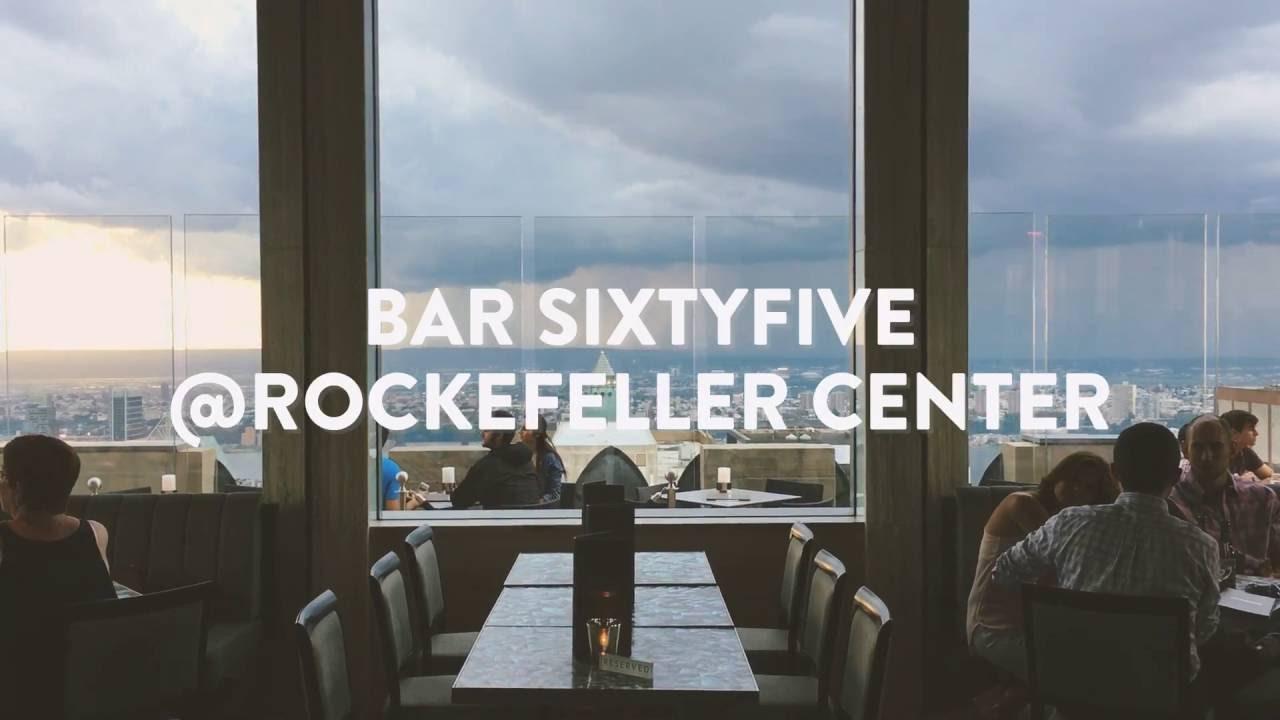Bar Sixtyfive @Rockefeller Center - YouTube