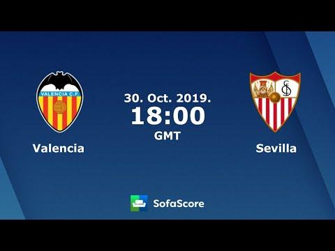 Sevilla FC Vs Valencia Live Streaming Online 30.10.2019
