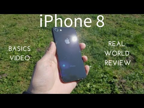 iPhone 8 Basics Video (Real World Review)