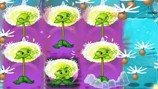 Plants Vs Zombies 2: Dandelion 6 Tile Turnips Powerup