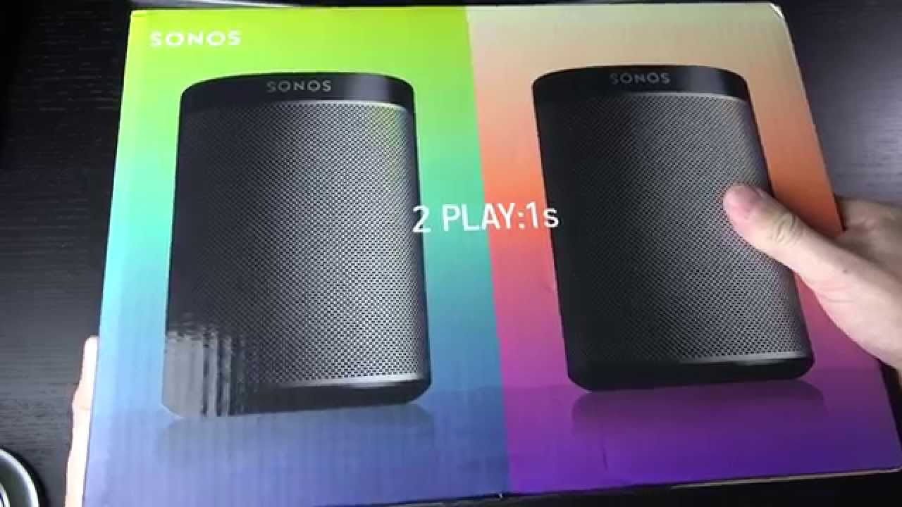 SONOS PLAY:1 Compact Wireless Networked Speaker - YouTube