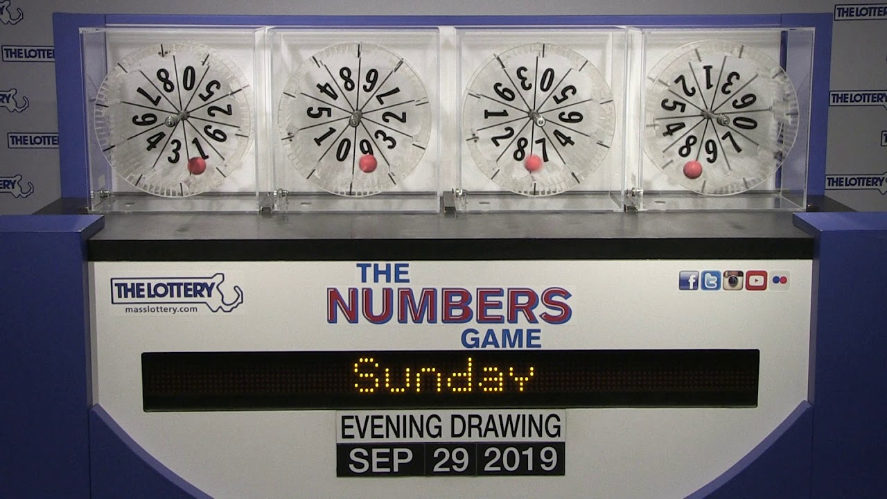 Evening Numbers Game Drawing Sunday September 29 2019 Youtube