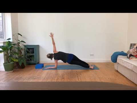 easy on the wrists yoga sequence ideas  youtube