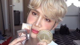 Trying the makeup I got in Japan (◕◡◕✿) *kawaii* - Edward Avila