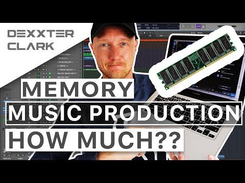 How much ram memory do I REALLY need for music production??? THAT much!?