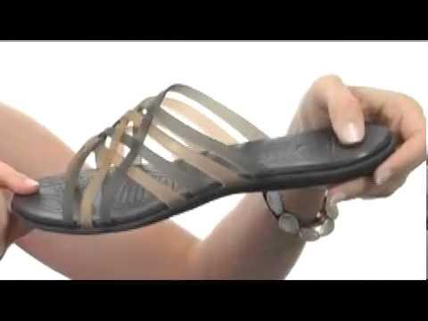 cc586a68ffd1 Crocs Huarache Flip Flop SKU  8082199 - YouTube