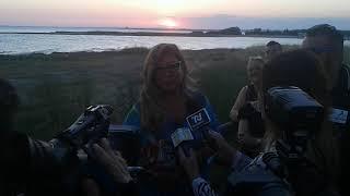 Romina Power a Porto Cesareo, l'intervista