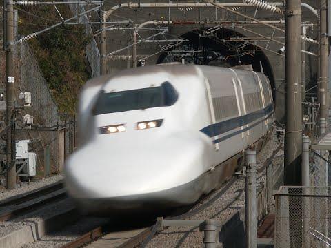 HD) 東海道新幹線 700系電車 の...