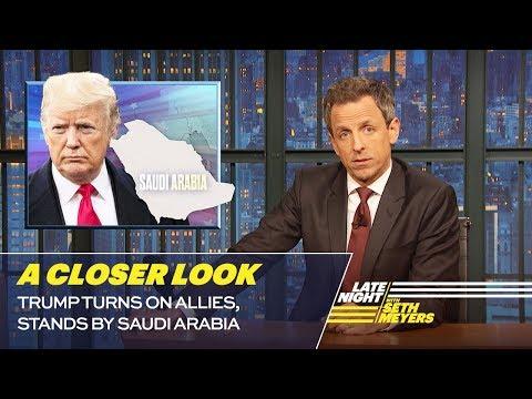 Trump Turns on