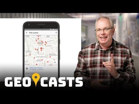 Incorporate Google Maps - Geocasts