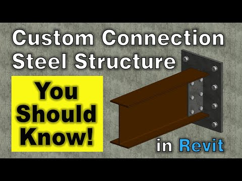 custom-steel-connection-in-revit-|-steel-structure-connection-in-revit-2020