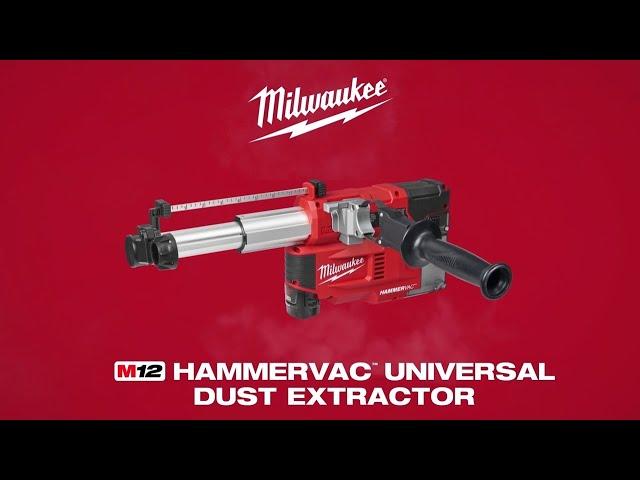 Milwaukee® M12™ HAMMERVAC™ Universal Dust Extractor