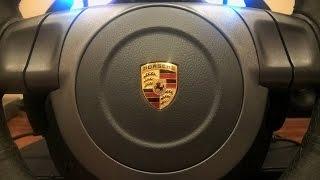 Обзор и сравнение рулей Logitech G25 и Fanatec Porsche 911 GT2 на ПК и PS3