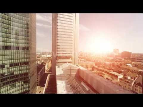 International Locations Footage—City Aerial Footage