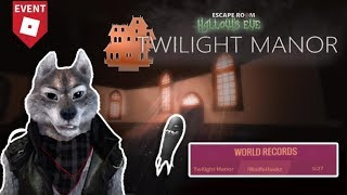 Video [HALLOW'S EVE EVENT] Roblox Escape Room - Twilight Manor (Imaginary Companion) download MP3, 3GP, MP4, WEBM, AVI, FLV Oktober 2018