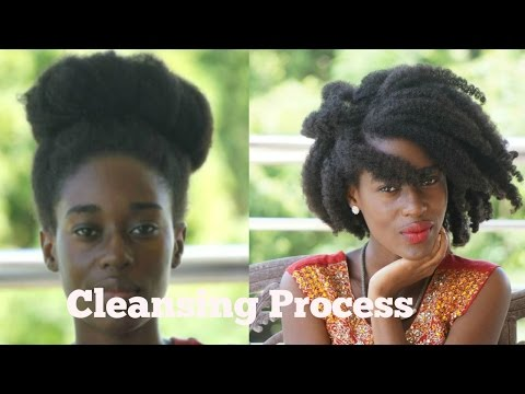 My Wash Routine:Part 2 | Cleansing Process | Type 4 Hair| Chadel Mathurin