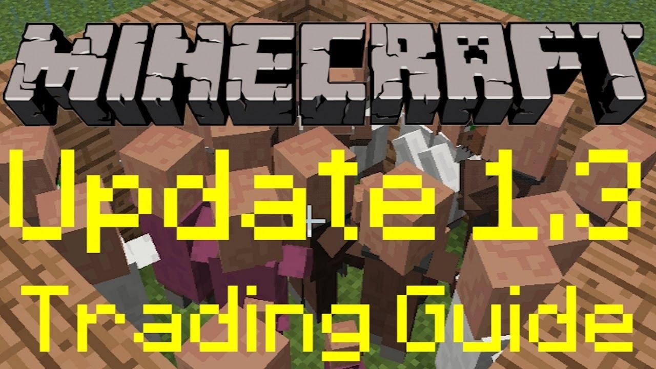 Minecraft villager trading system