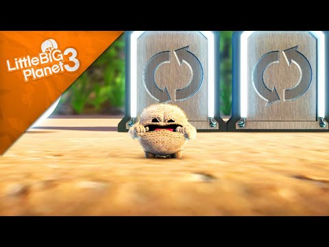 LittleBigPlanet 3 - Baby Characters Glitch