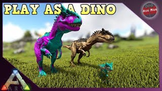 PLAY AS A DINO, MAKING AN ALLO FAMILY | ARK SURVIVAL EVOLVED