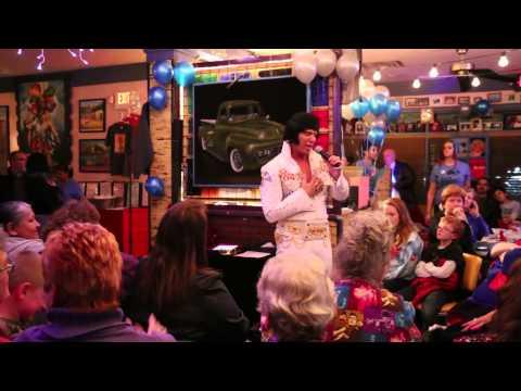 "MIKE ELLIOTT (ELVIS) CHUY'S ELVIS' BIRTHDAY BASH ""BURNING LOVE"""