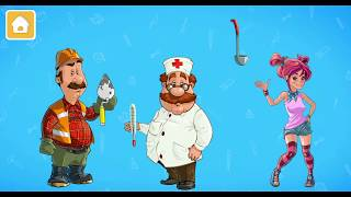 Learn Jobs for kids - Professions name! Learning game