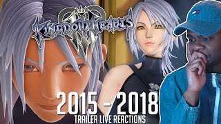 New Kingdom Hearts Fan Reacts to KH3 Trailers (2015 - 2018)