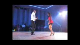 SALSA Performance by AJ and Stephanie - Dancing  with Stars 2013