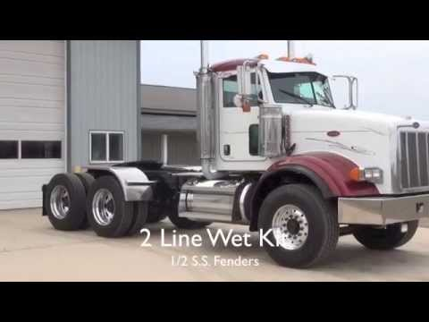 2007 Peterbilt 385 Day Cab Michigan Special Youtube