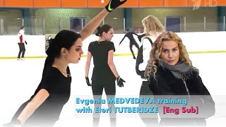 Evgenia MEDVEDEVA back to training with Eteri TUTBERIDZE Interview Eng Sub Montage