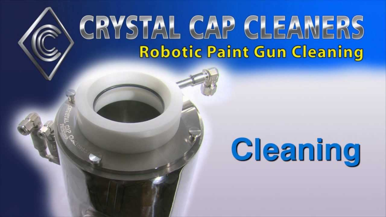 Right Choice Automotive >> Crystal Cap Cleaners Cleaning Process - YouTube