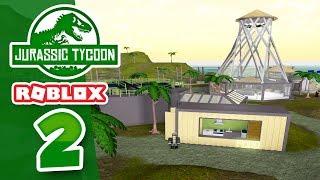 Expansion DE LA PARK - Roblox Jurassic Tycoon #2
